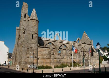 chapel Notre-Dame-du-Murier, France, Brittany, Batz sur Mer - Stock Photo
