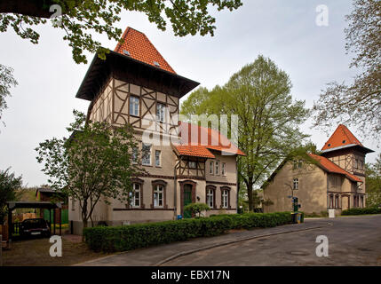 former residental zones of miners Eving, Germany, North Rhine-Westphalia, Ruhr Area, Dortmund - Stock Photo
