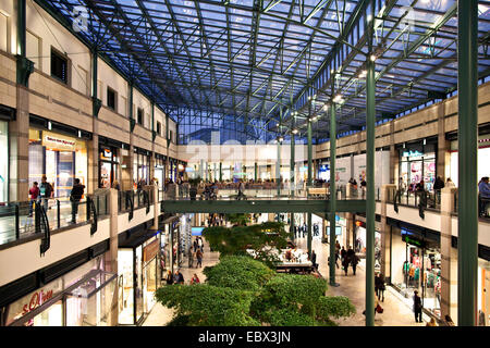 shopping mall CentrO in Oberhausen, Germany, North Rhine-Westphalia, Ruhr Area, Oberhausen - Stock Photo