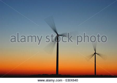 wind power - Stock Photo