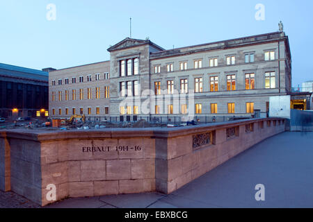 Neues Museum in Berlin, Germany, Berlin - Stock Photo