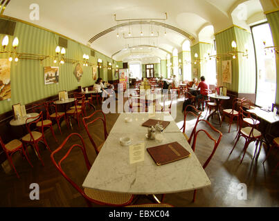 Vienna, cafe museum, Austria - Stock Photo