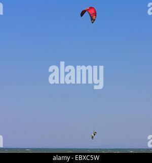 Kitesurfer, France, Camargue - Stock Photo