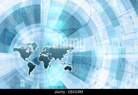Global integration network with world map as art stock photo global integration network with world map as art stock photo gumiabroncs Image collections