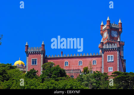 Pena National Palace, UNESCO World Heritage Site, Sintra, Portugal, Europe - Stock Photo