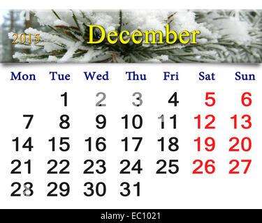 evergreen calendar
