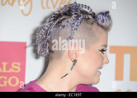 Los Angeles, CA, USA. 7th Dec, 2014. Kelly Osbourne at arrivals for The Trevor Project's TrevorLIVE Los Angeles - Stock Photo