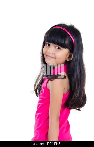indian Beautiful Child - Stock Photo