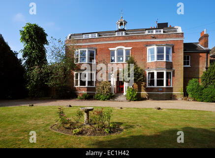 Gad's Hill Place, Higham, above Rochester, Kent, the home of novelist Charles Dickens from 1857 until his death - Stock Photo