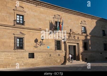 Parador Hotel - 16th century, Ubeda, Jaen province, Region of Andalusia, Spain, Europe - Stock Photo