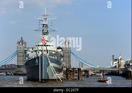 Hms Belfast Museum War Ship Southwark Central London ...