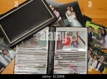 photograph albums - Stock Photo
