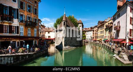 Annecy Europe France Haute-Savoie Rhône-Alpes - Stock Photo