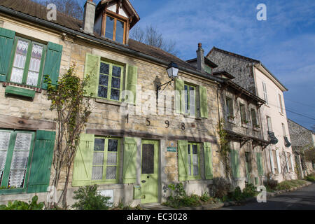 France, Val d'Oise, Auvers-sur-Oise, The village where Vincent Van Gogh was living at the time of his death in 1890. - Stock Photo