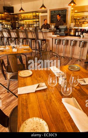 Dining Room And Bar Of S.Y. Kitchen, Santa Ynez, Santa Ynez Valley,  California