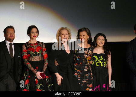New York, USA. 08th Dec, 2014. World Premiere of 'Into The Woods' in NYC at the Ziegfeld Theatre, December 8th 2014 Credit:  Vidura Luis Barrios/Alamy Live News