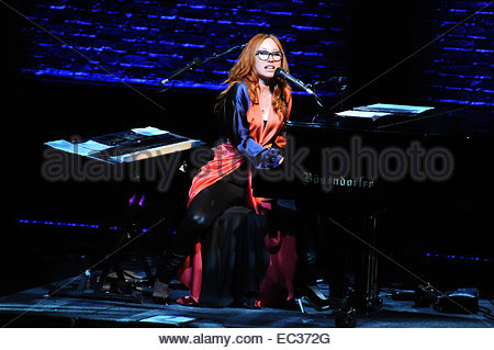 Tori Amos performing live in concert her during 'Unrepentant Geraldines Tour' at Teatro Nazionale  Featuring: Tori - Stock Photo