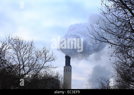 Thermal Power Station, Berlin, Germany, Europe - Stock Photo