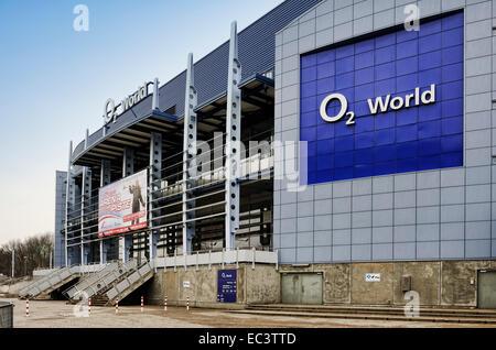 O2 World event hall in Hamburg, Germany, Europe - Stock Photo
