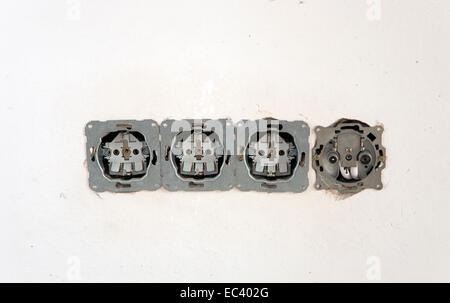Sockets - Stock Photo