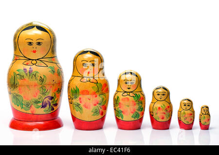 Russian Matryoshka - Stock Photo