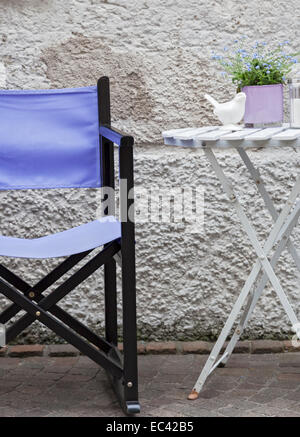 purple chair - Stock Photo