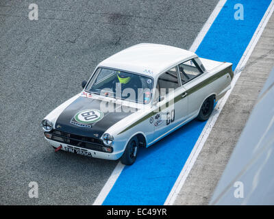 Ford Lotus Cortina MK 1 - Stock Photo