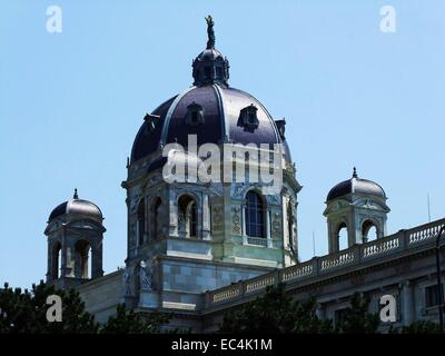 The Museum of fine arts abbreviated as KHM in Vienna s 1st District - Stock Photo