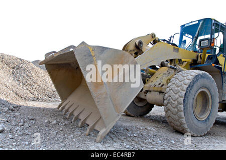 wheel loaders - Stock Photo