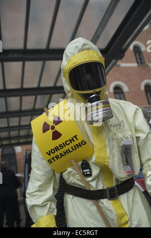 radiation protection suit - Stock Photo