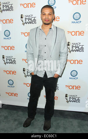 Los Angeles, California, USA. 9th Dec, 2014. Jake Smollett attends 46th NAACP Image Awards Nomination Announcement - Stock Photo