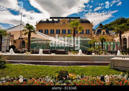 gambling casino in Baden near Vienna, Lower Austria, Austria, Europe - Stock Photo