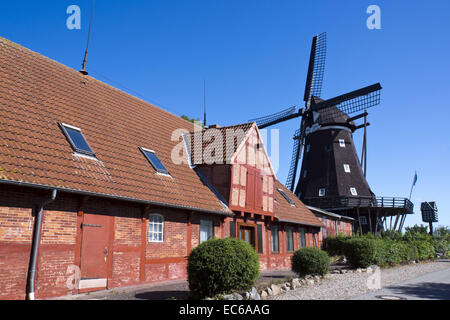 museum mill in lemkenhafen fehmarn island baltic sea stock photo royalty free image. Black Bedroom Furniture Sets. Home Design Ideas
