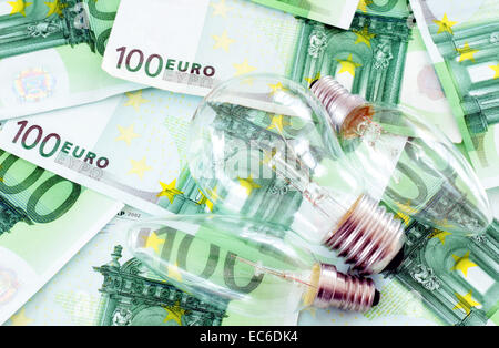 A concept of expensive energy - Stock Photo