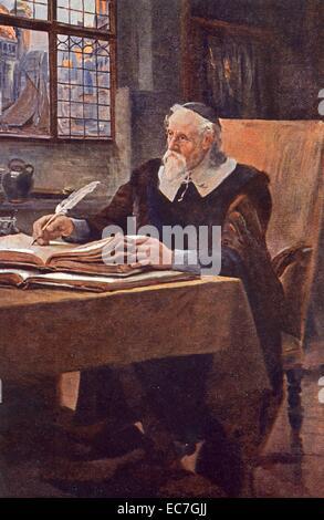 Comenius, Johann Amos, 28.3.1592 - 15.11.1670, Czech scientist (theologian and educator), portrait, teacher of nations, - Stock Photo