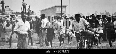 Sharpeville massacre occurred on 21 March 1960, - Stock Photo
