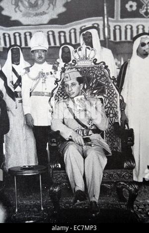 Faisal II (1935 – 14 July 1958) was the last King of Iraq. He reigned from 4 April 1939 until July 1958, when he - Stock Photo