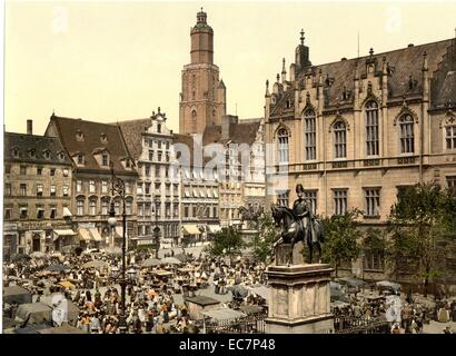 http://l450v.alamy.com/450v/ec7p48/market-place-breslau-silesia-germany-wroclaw-poland-ec7p48.jpg