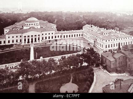 Tauride Palace in Saint Petersburg, Russia. In 1906, it was transformed into the seat of the first Russian parliament, - Stock Photo