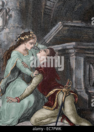 the deaths of romeo and juliet in william shakespeares play Romeo and juliet is a hymn to youth and the thrill of forbidden love, charged with sexual passion and violence, but also a warning of death: a dazzling combination of.