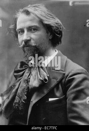 French opera composer Gustave Charpentier (1860-1956). - Stock Photo