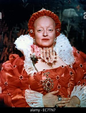 The Virgin Queen is a 1955 historical drama film starring Bette Davis, Richard Todd and Joan Collins. It focuses - Stock Photo