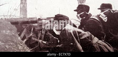 edge of machine gun