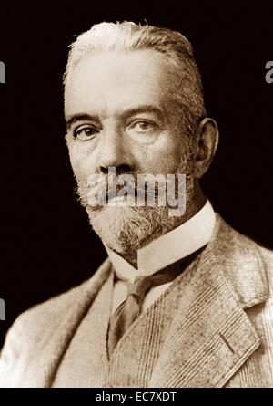 Theobald von Bethmann Hollweg (1856 – 1 January 1921) German Chancellor of the German Empire from 1909 to 1917. - Stock Photo