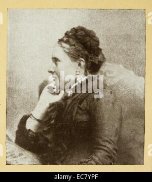 Victoria; Princess Royal (21 November 1840 – 5 August 1901) eldest child of Queen Victoria of the United Kingdom - Stock Photo