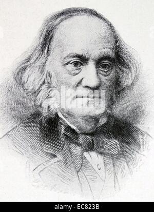 Sir Richard Owen (20 July 1804 – 18 December 1892) - Stock Photo