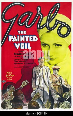 Film Poster for the Painted Veil - Stock Photo