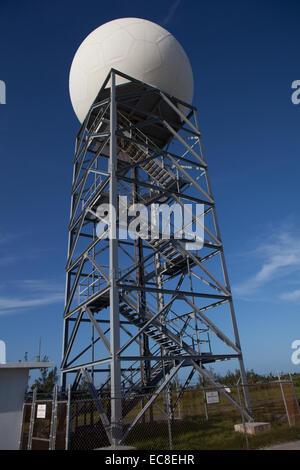 Satellite radio receiver tower - Stock Photo