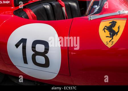 Design Detail Of Classic Car Ferrari Dino 246 Gt Alfredo