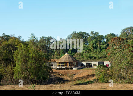 Bale Mountain Lodge, Harenna Forest, Bale Mountains, Oromiya, Ethiopia - Stock Photo